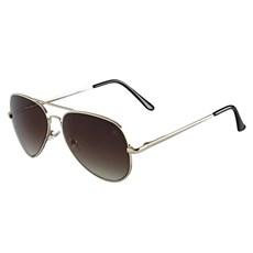 Óculos Escuro Aviador Dourado Twisted Wire 29941