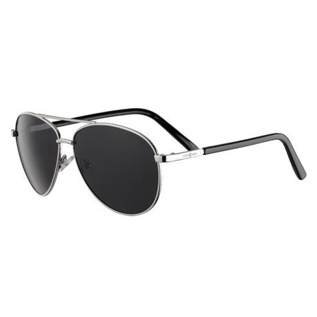 Óculos Escuro Aviador Preto Polarizado Cow Way 25301