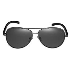 Óculos Escuro Polarizado Aviador Preto Twisted Wire 29957
