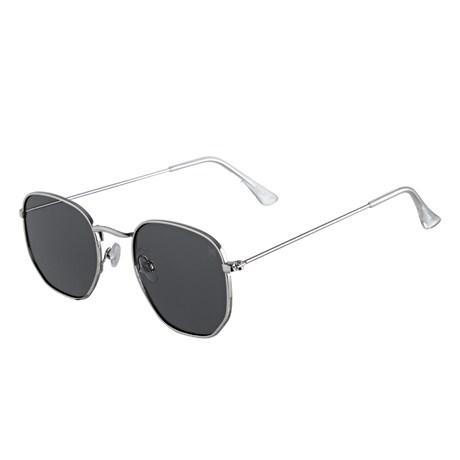 Óculos Escuro Prata Twisted Wire 29954