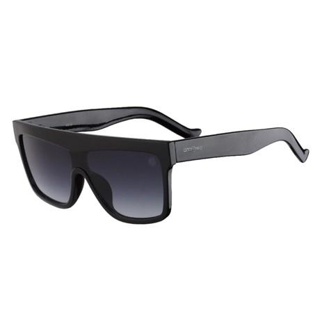 Óculos Escuro Preto Degradê Lente Quadrada Cow Way 25314