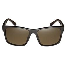 Óculos Escuro Quadrado Marrom Twisted Wire 29942