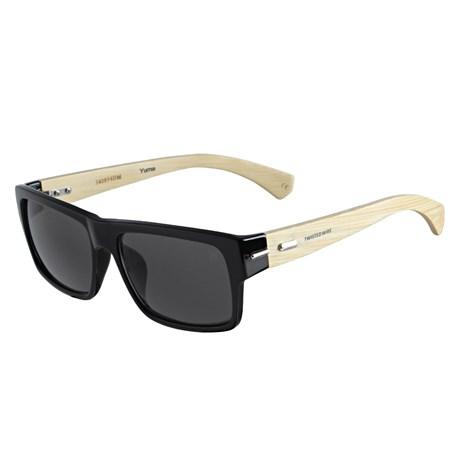Óculos Escuro Quadrado Preto Twisted Wire 29940