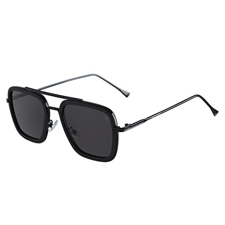 Óculos Escuro Quadrado Preto Twisted Wire 29945