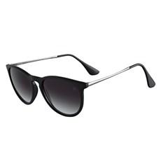 Óculos Escuro Redondo Preto Twisted Wire 29955