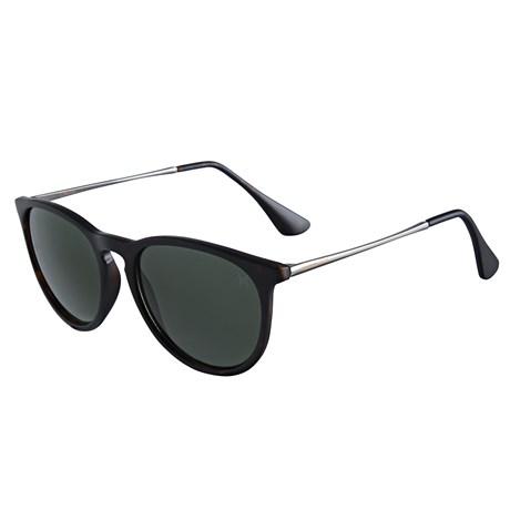 Óculos Escuro Redondo Preto Twisted Wire 29958