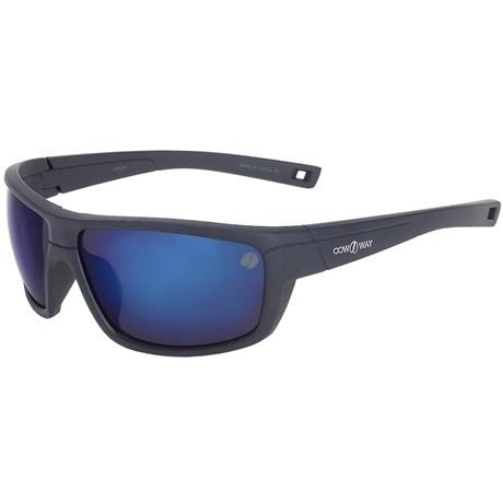 474067ded Óculos Esportivo Espelhado Azul Cow Way 20012 - Rodeo West