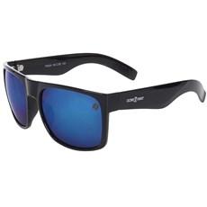 Óculos Grande Quadrado Cow Way Lente Azul 19994