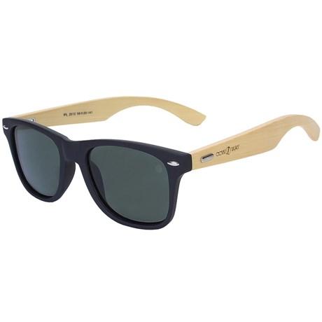 Óculos Lentes Polarizadas Cow Way Hastes Bambú 22250