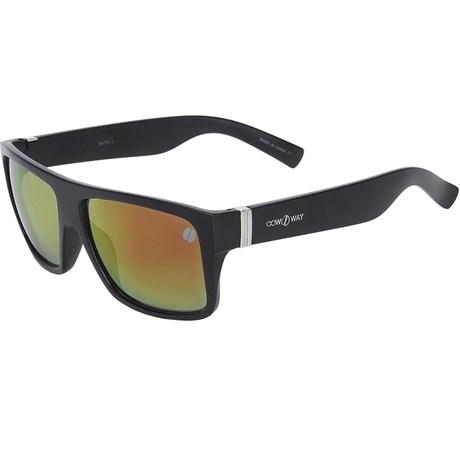 e4d6be795 Óculos Preto Espelhado Cow Way Quadrado 20005 - Rodeo West