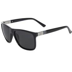 Óculos Preto Quadrado Lente Polarizada Cow Way 19998