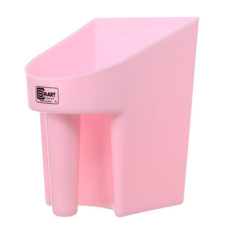 Pegador em Plástico para Ração e Água Rosa Smart Choice 28115