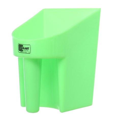 Pegador em Plástico para Ração e Água Verde Limão Smart Choice 28116