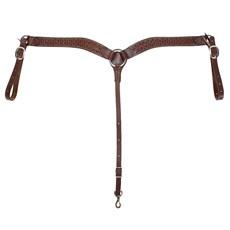 Peiteira para Cavalo em Couro Bordado Modelo Y - Rodeo West 18611