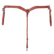 Peiteira para Cavalo Modelo Y em Couro Bordado - Rodeo West 16721