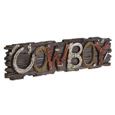 Placa Decorativa Cowboy Home Western Decor 26866