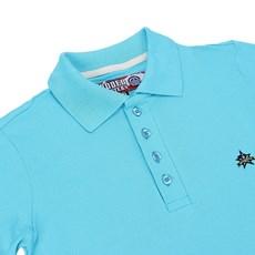 Polo Feminina Azul Lisa Rodeo Western 22644