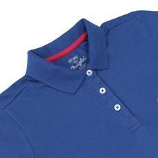 Polo Feminina Azul Wrangler 19775 Polo Feminina Azul Wrangler 19775 91fe05a057358