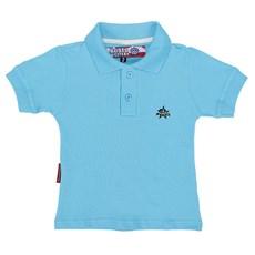 Polo Feminina Infantil Azul Rodeo Western 22587