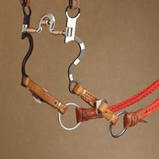 Ponteira de Rédea com Fivela de Inox - Bronc-Steel 18576