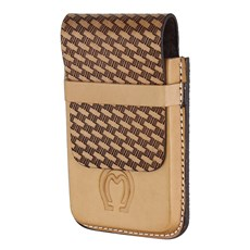 Porta Celular Couro Natural Mangalarga Marchador Cow Way 26500