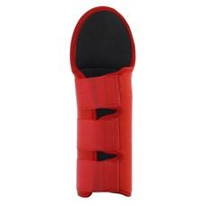 Protetor de Rabo Curto Vermelho para Cavalo Neoprene Boots Horse 28527
