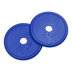 Protetor Lateral de Borracha Azul para Freio e Bridão Rodeo West 27339