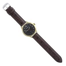 Pulseira de Couro para Relógio Croco Marrom Ostral 25101