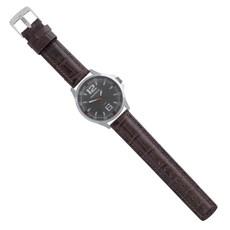 Pulseira de Couro para Relógio Croco Marrom Ostral 25120