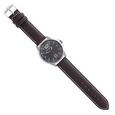 Pulseira para Relógio Couro Marrom Ostral 25109