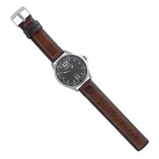Pulseira para Relógio Couro Marrom Ostral 25121