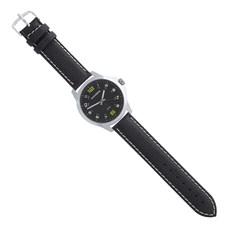 Pulseira para Relógio Couro Preto Ostral 25110