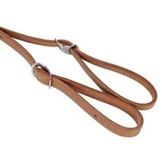 Rédea de Nylon para Cavalo com Ponteiras de Couro Rodeo West  23673