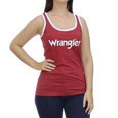 Regata Feminina Vermelha Original Wrangler 28652