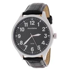 Relógio Masculino 3ATM Preto Mondaine 23486