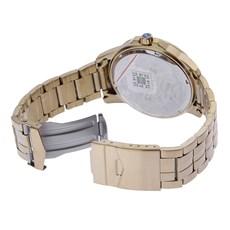Relógio Masculino Dourado Montaria em Touro Long Life 5ATM Seculus 24983