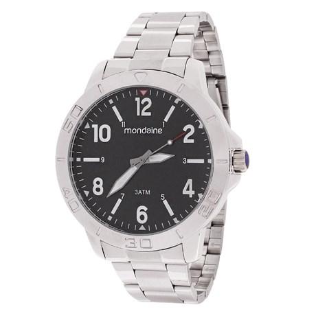 Relógio Masculino Prata Mondaine 3ATM 23479