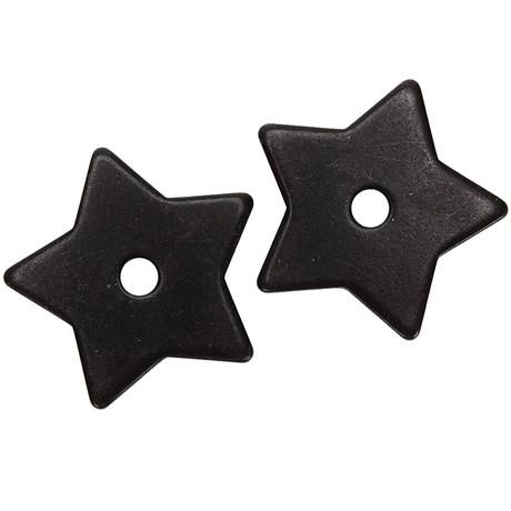 Roseta para Espora Western 5 Pontas Black Steel - Metalab 13390