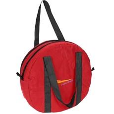 Sacola para Laço Vermelha Fabricada em Lona de Nylon - Fast Back 15187