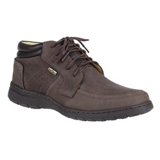 Sapato Masculino Zebu Original Marrom 24140