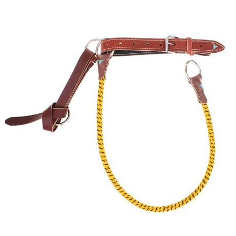 Sedém Amarelo Misto para Montaria em Touro Top Equine 28743