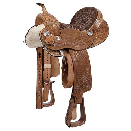 Sela 3 Tambores Profissional 14'' Bordada Rodeo West 22454