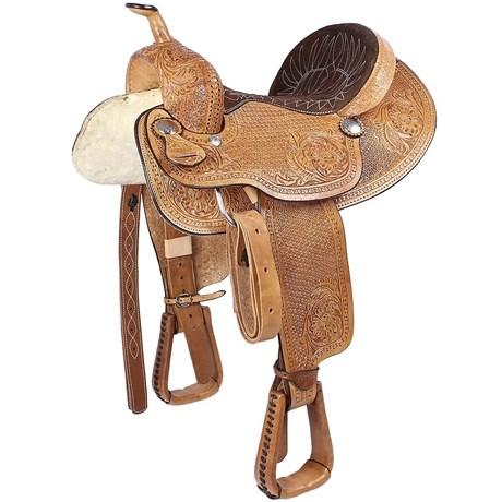 Sela 3 Tambores Profissional 14'' Inteira Bordada - Rodeo West 16993