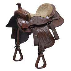 "Sela Americana para Cavalo Assento 14,5"" Bronc-Steel 29469"
