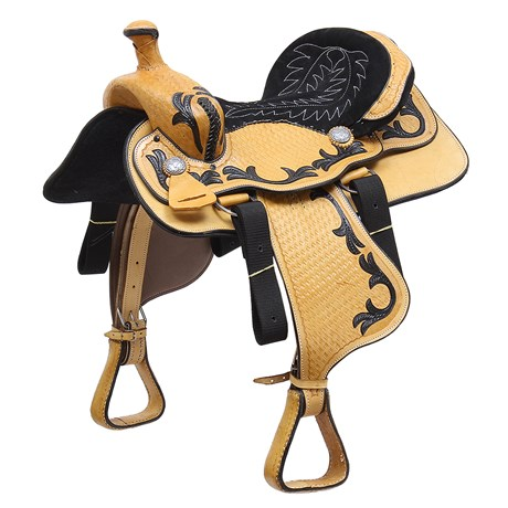 "Sela Americana para Cavalo Assento 14,5"" Bronc-Steel 29470"