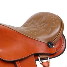 "Sela de Cavalo Australiana Assento 15"" Bronc-Steel 29024"