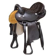 "Sela de Cavalo Australiana Assento 15"" Bronc-Steel 29026"
