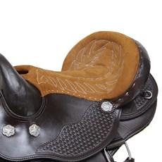 "Sela de Cavalo Australiana Assento 15"" Bronc-Steel 29027"