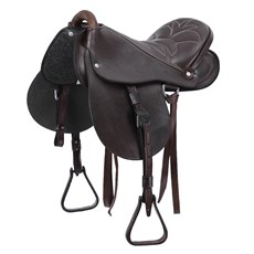 Sela de Cavalo Australiana Bronc-Steel Assento 17'' 24588