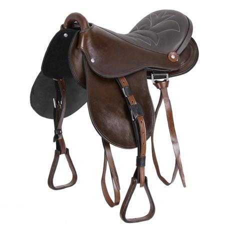 Sela de Cavalo Australiana Bronc-Steel Assento 17'' 25091